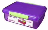 2L Sistema lunch box purple-lime