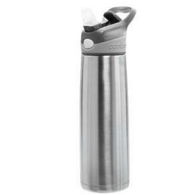 Personalised Contigo Sheffield stainless steel water drink bottle