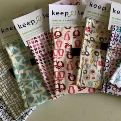 Keep Leaf re-usable food sandwich baggie - mix