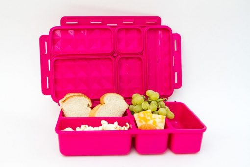 Personalised Original large Go Green lunch box leak proof bento lunch box in pink