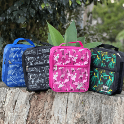 Fridge to-go insulated lunch bag - medium size - mixed photo of new patterns