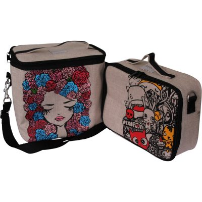 So Young insulated cooler lunch bags in funky designs