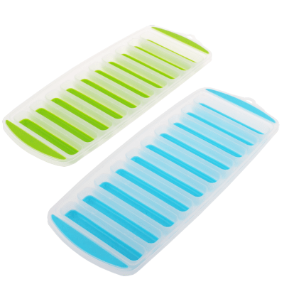 Appetito stick ice cube tray easy release tray - set of 2 trays